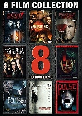 Horror-8 Feature Film Collection - 3 DISC SET (2015, DVD New)