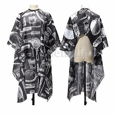 Waterproof Salon Barbers Hairdressing Hairdresser Hair Cutting Cape Gown Clothes
