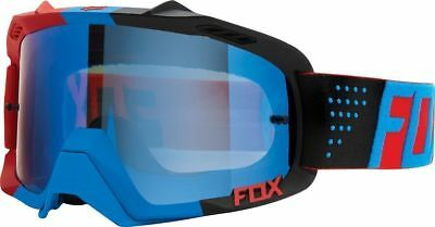 Fox Racing Mx AIR Defence Libra Blue Red Spark Motocross Dirt Bike Goggles