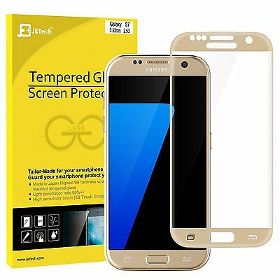 JETech® 0931 Full Cover Tempered Glass Screen Protector For Samsung Galaxy S7