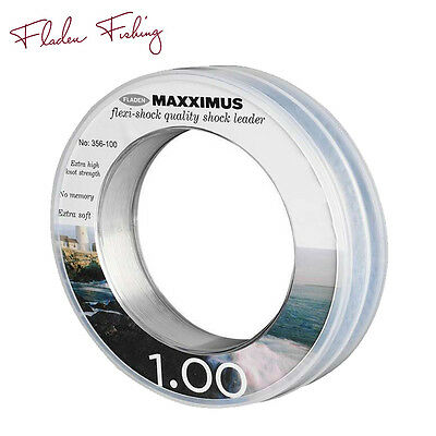 Fladen Maxximus Flexi Shock Leader Line – 45 to 118lb, 50m Spools