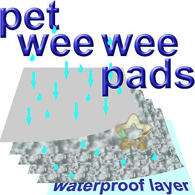 X Large 80x150 or 90x60 Pet Wee Pads Incontinence Training Toilet Unscented Big