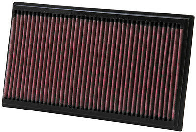 K&N Air Filter Element 33-2273 (Performance Replacement Panel Air Filter)