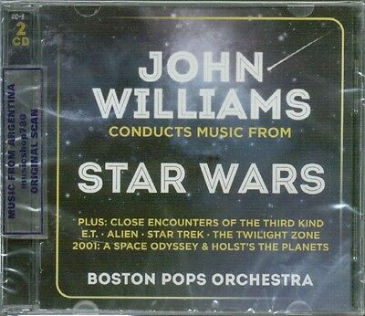 John Williams Conducts Music From Star Wars Sealed Cd New Soundtrack