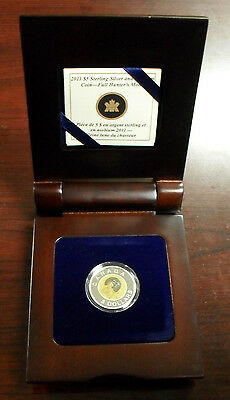 2011 Canada Sterling Silver & Niobium Proof $5 Coin - Full Hunter's Moon