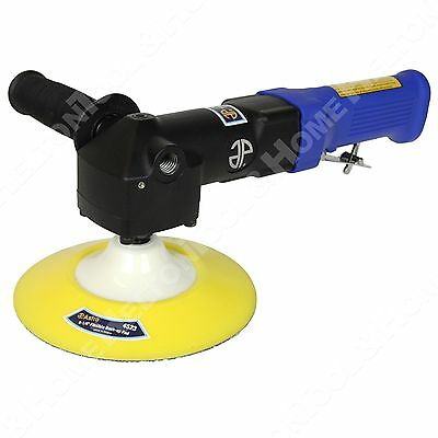 """New Astro Pneumatic 3067 7"""" Angled Buffer Polisher Variable Speed w/ Lock Lever"""