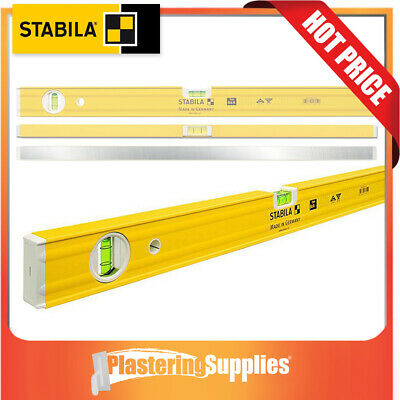 Stabila Spirit Box Level 120cm 3 Vials FREE BAG 80A-2/120