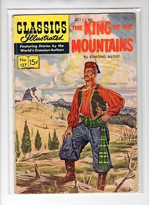 Classics Illustrated #127 HRN 128 (Original) VG- Norman Nodel