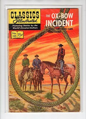 Classics Illustrated #125 No HRN (Original) VG- Maurice Del Bourgo