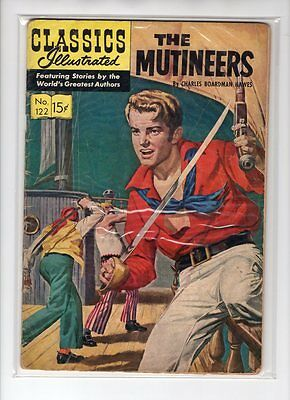 Classics Illustrated #122 HRN 123 (Original) GDVG Pete Costanza