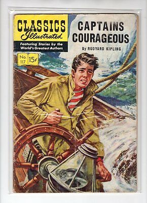 Classics Illustrated #117 HRN 118 (Original) GD Costanza Blum