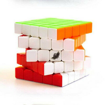 New Cyclone Boys Magic Colorful Cube Speeding Speed Move 5X5X5 Puzzle Twist Gift