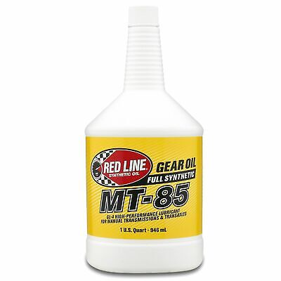 Redline Synthetic MT85 75W85 GL4 Oil Motorsport / Road Use 1 US Quart / 0.94 L
