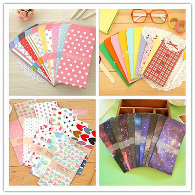 Fashion 5Pcs Cartoon Colorful  Envelope Kawaii Small Baby Gift Craft Envelopes