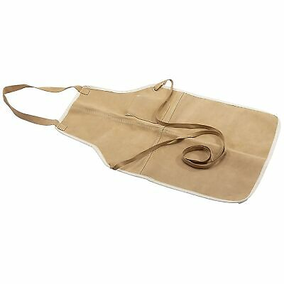 Draper Suede Leather Welding / Joining / Workshop / Mechanic Apron / Bib - 09699