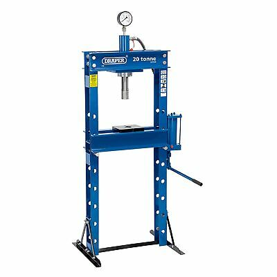 Draper Workshop 20 Tonne Hydraulic Floor Press & High Pressure Pump - 10598
