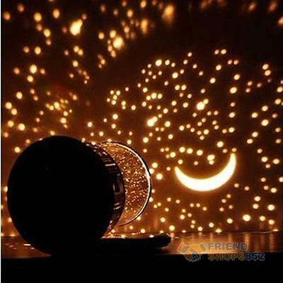 Amazing LED Starry Night Sky Projector Lamp Star Cosmos Master Light Kids Gift