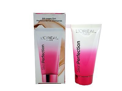 L'Oreal loreal Paris Skin Perfection 5-in-1 BB Cream SPF25 50ml choose shade