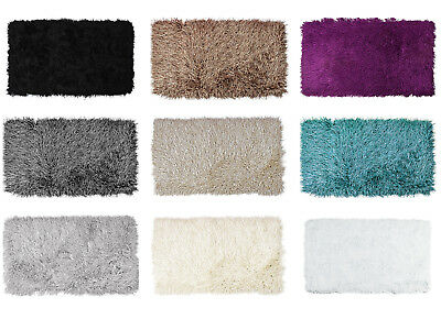THICK SOFT FLUFFY SHAGGY POLYESTER CARPET RUG SMALL LARGE 9CM PILE Inspiration