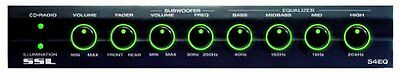 SSL S4EQ 4 Band Pre-Amp Equalizer with Subwoofer by Sound Storm Laboratories NEW