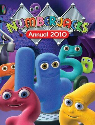 Numberjacks Annual 2010 by VARIOUS Hardback Book The Cheap Fast Free Post