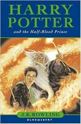 Harry Potter and the Half-Blood Prince (Book 6) by J.K. Rowling Book The Cheap