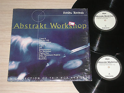 Abstrakt Workshop (Herbaliser, Dj Krush, Cutee B.) - 2 Lp 33 Giri U.s.a.