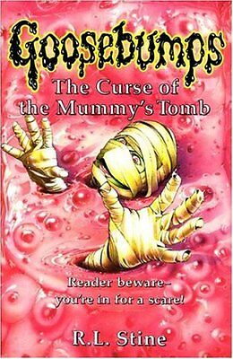 The Curse of the Mummy's Tomb (Goosebumps) By  R. L. Stine. 9780590554978