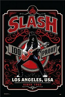 SLASH - 100 PROOF MUSIC POSTER - 24x36 - 3286