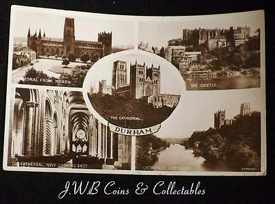 Old Multiview Postcard of Durham
