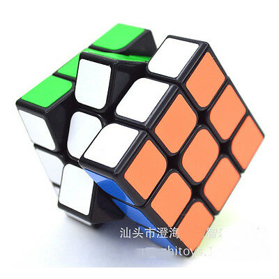 Professional Ultra-smooth Magic Cube 3x3x3 Speed Twist Puzzle Toy Smoothly Game