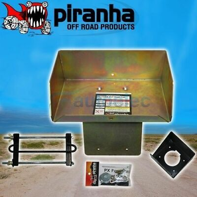 Dual Battery Tray System Ford Ranger Px Xlt Styleside Btfr2 Piranha