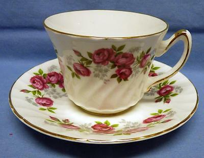 Staffordshire Royal Sutherland  Pattern  Teacup&saucer Fine Bone China  England