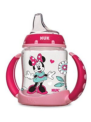 NUK Disney Learner Cup with Silicone Spout, Minnie Mouse, 5-Ounce (62046) NEW..