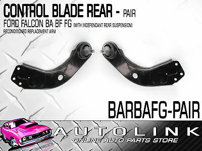 Rear Control Blade (Pair) Suit Ford Falcon Ba Bf Fg Sedan (Reconditioned)