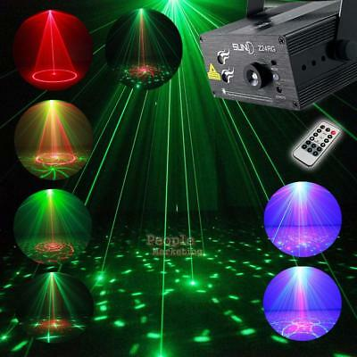 Full Color Led Stage Laser Projector Light Rgb Party Show Dj Disco Club Lighting