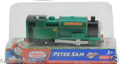 Fisher Price TRACKMASTER Thomas & Friends LOCO Peter Sam motorized Train