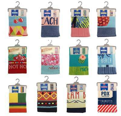 Large Funky Microfibre Soft Beach Bath Swimming Holiday Towel New With Tags