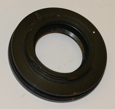 Carl Zeiss S-Planar 74/4 Micro Lens to Nikon F Mount Camera Adapter