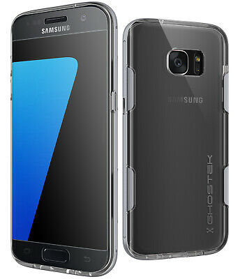 Galaxy S7 Edge Case | Ghostek CLOAK Slim Clear Shockproof with Screen Protector