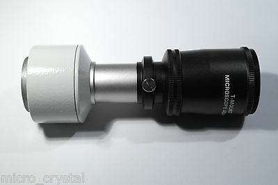 ROWI Microscope photo Adapter M36 extension tube eyepiece projection + eyepiece