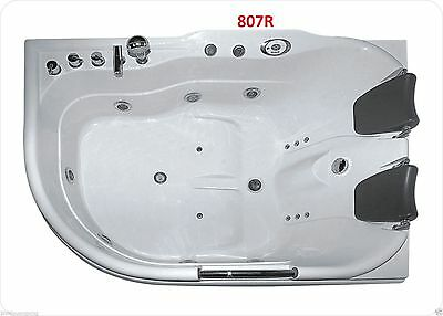 Spa Bath New MODEL-807 (R/L) Big & Small 12 Jets 1.5hp two person double size