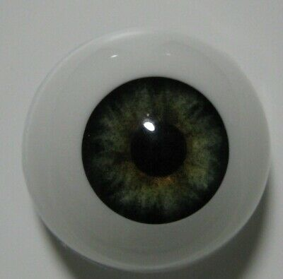 Reborn doll eyes 20mm Half Round  EVERGREEN