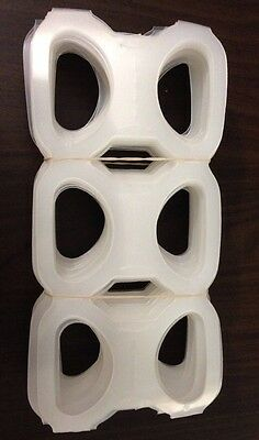 Six Pack Ringers 100 Ct (Beer / Soda Cans ) Liquor Plastic 6 Pac Rings NEW