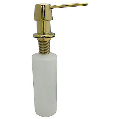 LG Polished Brass Kitchen Sink Soap/Lotion Dispenser #31420