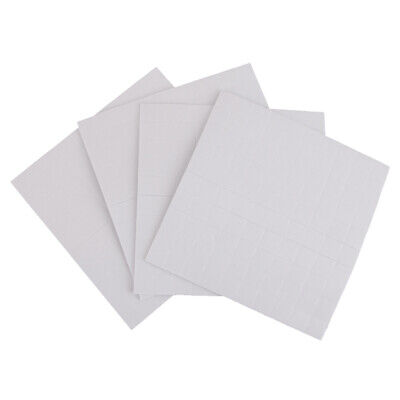 400 Double Sided Self Adhesive Foam Pads/Squares Sticky Fixer 3D Effect 1/2/3mm