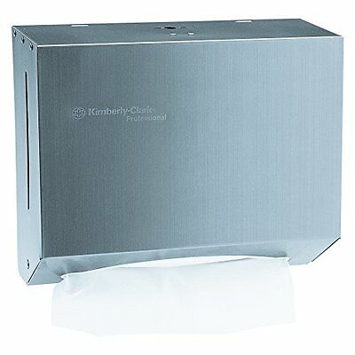 Kimberly-clark Professional 09216 Scottfold Stainless Steel Compact Towel Dis...