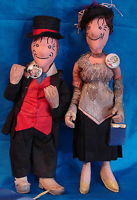 Rare Maggie and Jiggs Dolls-Contest Winners Theriault Auction!