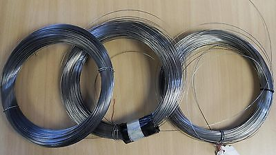 spring steel, piano Wire (by the metre) for DIY. wire steel spring 1mt