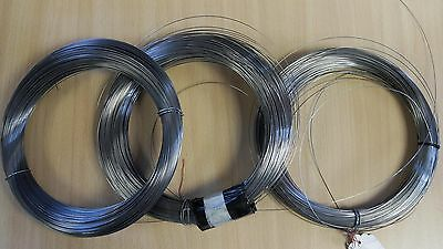 spring steel, piano wire (by the metre) for DIY. Fil steel spring 1mt